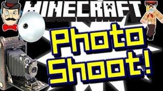 Minecraft PHOTO SHOOT ! Creeper Say Cheese !