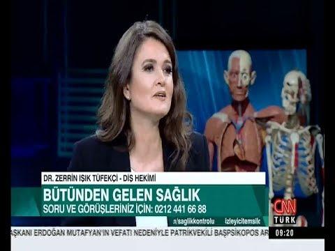 Zerrin Tüfekçi-CNNTürk Sağlık Kontrolü 9 Mart 2019