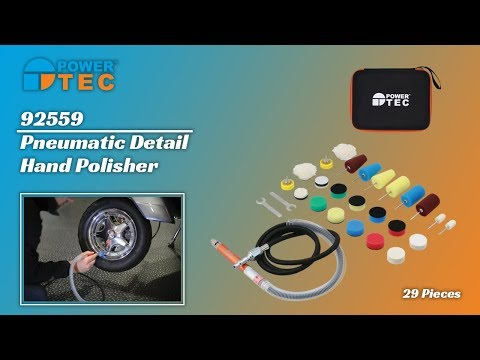 92559 | Pneumatic Detail Hand Polisher