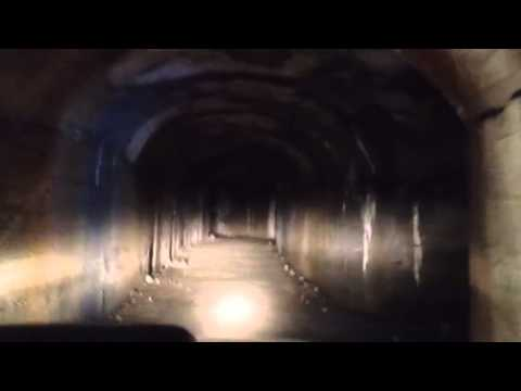 Nelle gallerie della Linea Cadorna con la Prociv