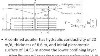 CE 433 - Class 28 (12/5/2013) Groundwater flow, wells, and subsurface hydrology