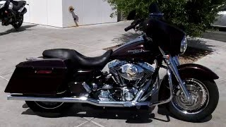 9. 2006 Harley Davidson FLHX Street Glide for sale at Cycles, Skis & Atv's in Tucson, Az
