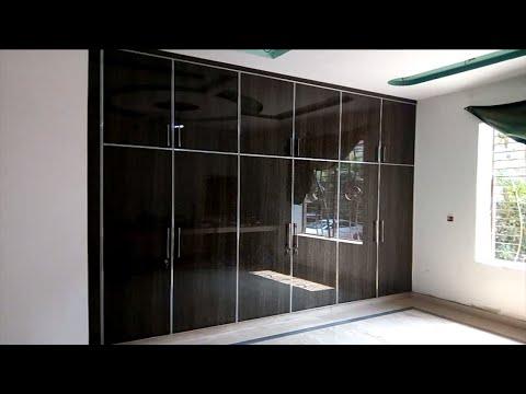 UV High Glossy Wardrobe || Laminated Boxes & Out Side UV Doors