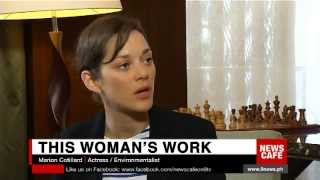 In celebration of women's month, we pay tribute to inspiring role models whose lives encourage other women and girls to think larger and bolder, and give men a fuller understanding of the female experience. News Cafe gets into the minds of beauty queen, philanthropist Margie Moran-Floirendo and actress-environmentalist Marion Cotillard about their passions and desires to nurture and give back to a world that has nurtured them.