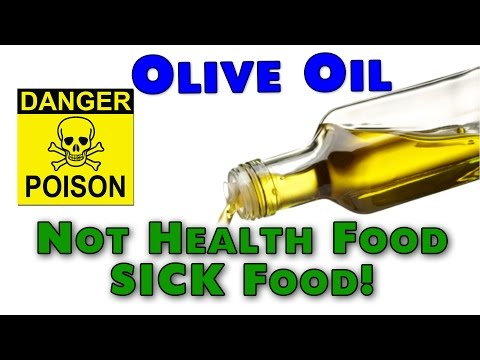 olive oil - So many are deceived into believing that olive oil and the Mediterranean Diet are