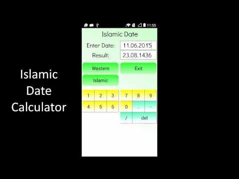 Video of Islamic Date Calculator