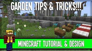 Garden Tips&Tricks - Inspiration! - Minecraft