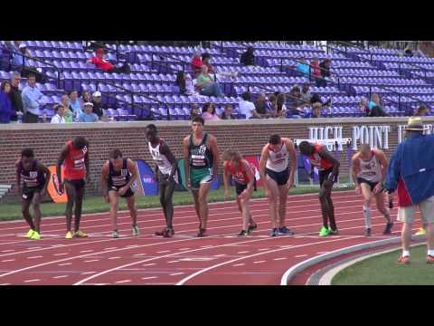 Track and Field at Big South Outdoor Championships - 5/14/15
