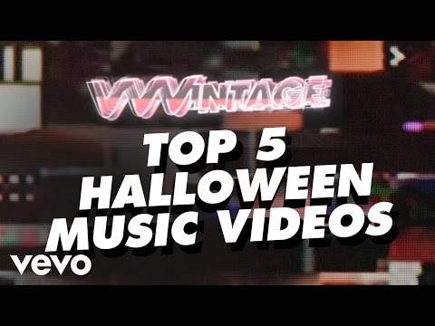 VVVintage – Top 5 Halloween Music Videos – (ft. Backstreet Boys, Chris Brown, Evanescence, Rihanna)
