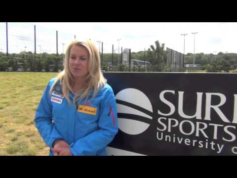 GB Skier Chemmy Alcott looks ahead to the Sochi 2014 Winter Olympic Games
