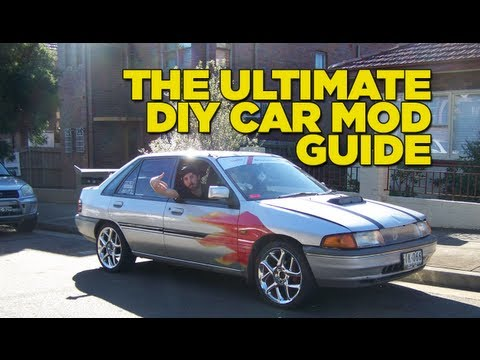 Car Mods - This TV length episode from the boys at Mighty Car Mods sees a new project car (funded by viewers) turned into a fully fledged race car. And they show you ex...
