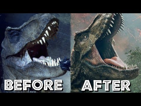 How Jurassic Park's T.Rex Changed