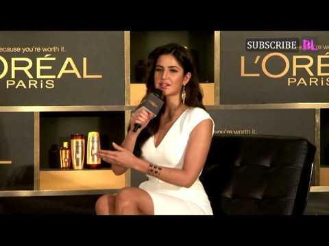 Katrina Kaif at the L'Oreal Paris press conference