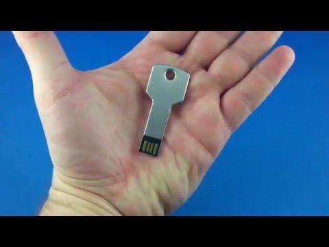 Metal usb stick flash key from AliExpress.com Unboxing haul