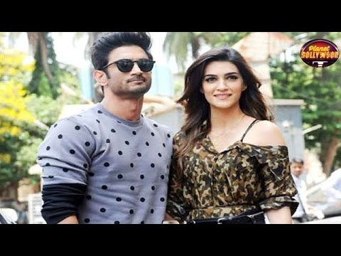 Sushant Singh Rajput Visits Kriti Sanon As She Was