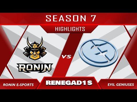 Rainbow Six Pro League - Ronin Esports vs. Evil Geniuses   TOP ESL MOMENTS 19