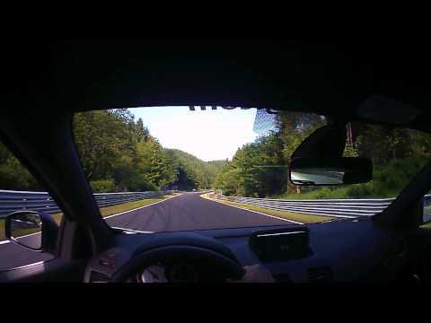 Nurburgring rental car Lap 3