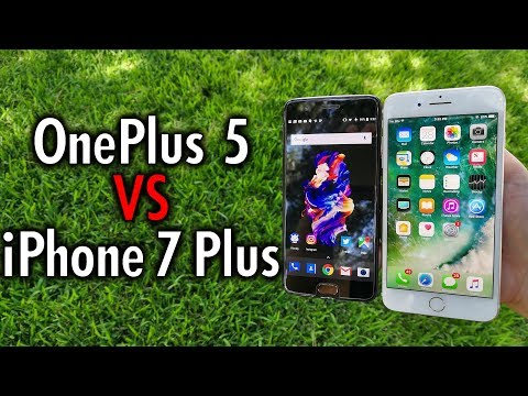 OnePlus 5 vs iPhone 7 Plus: Follow or Lead the Way?