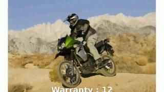 2. 2008 Kawasaki KLR 650 -  superbike motorbike