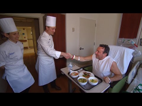 An Inside Look at a Hospital Serving Gourmet Food