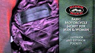 River Road Basic Motorcycle Jacket for Men and Women