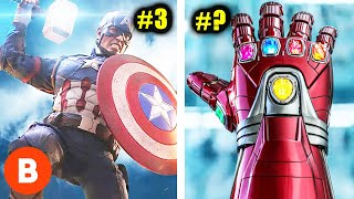 Video Marvel's Most Powerful Weapons Ranked MP3, 3GP, MP4, WEBM, AVI, FLV Juni 2019
