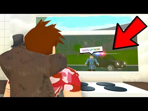 I STOLE CARS In Bloxburg and POLICE Showed Up.. (Roblox)