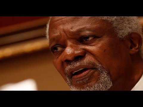 BREAKING NEWS: Kofi Annan, former UN Sec Gen, is dead