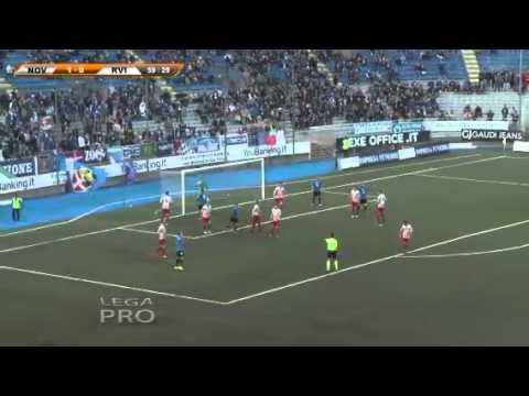 Novara-Real Vicenza 1-0, le immagini