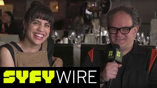 The Middleman creator Javier Grillo-Marxuach, alongside series star Natalie Morales (also of White Collar and Parks and Rec) answer incredibly important question and Natalie makes a GAME CHANGING revelation about magic!►►Subscribe To SYFY Wire: http://po.st/SubscribeSYFYWireMore About The Middleman: The Middleman was an American television series. The series, which was developed for television by Javier Grillo-Marxuach for ABC Family, is based on the Viper Comics series, The Middleman, created by Grillo-Marxuach and Les McClaine. SYFY WIRE is a fan-first genre news and editorial destination dedicated to covering science fiction and nerd culture across TV, Film, Books, Comics, space and technology with up-to-the-minute news, in-depth analysis and content that drives conversation and debate.Visit SYFYWIRE.com: po.st/SYFYWIREFind SYFYWIRE on Facebook: po.st/LikeSYFYWIREFollow SYFYWIRE on Twitter: po.st/FollowSYFYWIRENatalie Morales and Javier Grillo-Marxuach: Lightning Round Questions  SYFY WIREhttps://www.youtube.com/channel/UC985XM8r_uh-_znGrj8HG9w