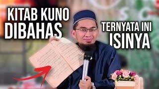 Video Ust. Adi Hidayat BAHAS Isi Kitab KUNO yang Ditemukan di Sumur Tua. Ternyata Ini Isinya‼️ MP3, 3GP, MP4, WEBM, AVI, FLV Januari 2019
