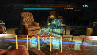 Тест игры Rocksmith через обычный 1/4 аудио кабель на встроенной аудиокарте Realtek HD. Микрофон включен, дабы было...