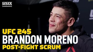 Brandon Moreno Names Jussier Formiga As Potential Opponent For 'Hard And Crazy' 2020 - MMA Fighting by MMA Fighting