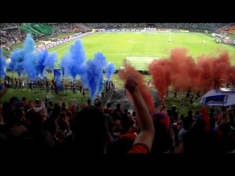 MEDELLIN 1 VS los muertos 1  Liga postobon II Cuadrangulares finales Fecha # 5  Dic-06-2012 - Rexixtenxia Norte - Independiente Medellín