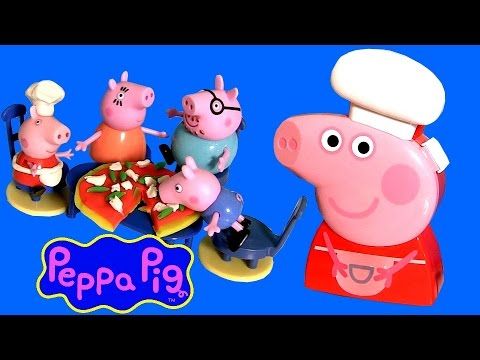 pig - Toychannel DisneyCollector presents Chef Peppa Pig Carry Case. Comes with all accessories you need to cook up sweets 'n treats. Includes 4 measuring spoons, rolling pin, 2 bowls and measuring...