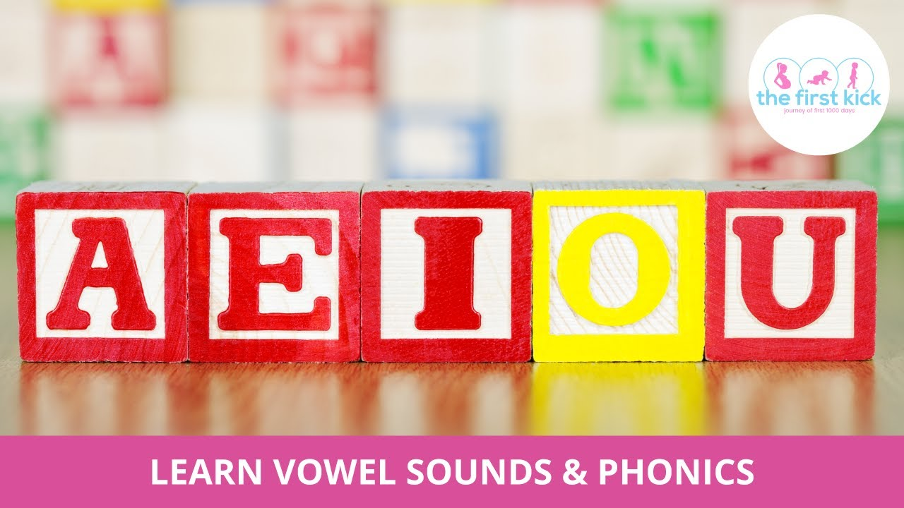 Learn Vowel Sounds & Phonics in a fun way with!