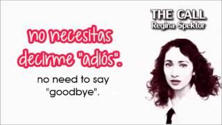 Regina Spektor - The Call (letra y traducción al español)