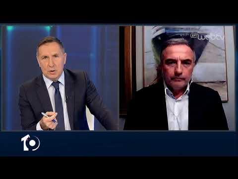 Ο Σταύρος Καλαφάτης Γενικός Γραμματέας της Κ.Ο της ΝΔ στο «10» | 22/04/2020 | ΕΡΤ