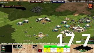2vs2 Random | Hưởng - U98 vs Trương IS - War | Ngày 17-7-2018 | BLV:G_Kami