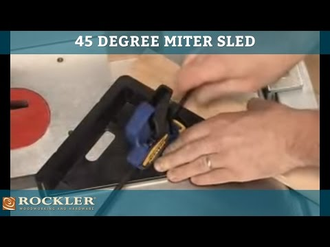 45 Degree Miter Sled
