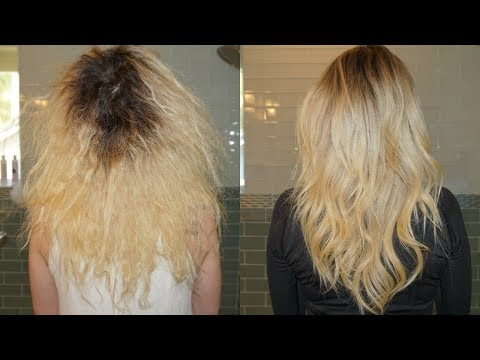 HOW TO FAKE HEALTHY HAIR + BEAUTY TIPS