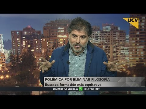 video Académico Ricardo Espinoza se refiere a la polémica por modificar filosofía del plan de estudios escolar