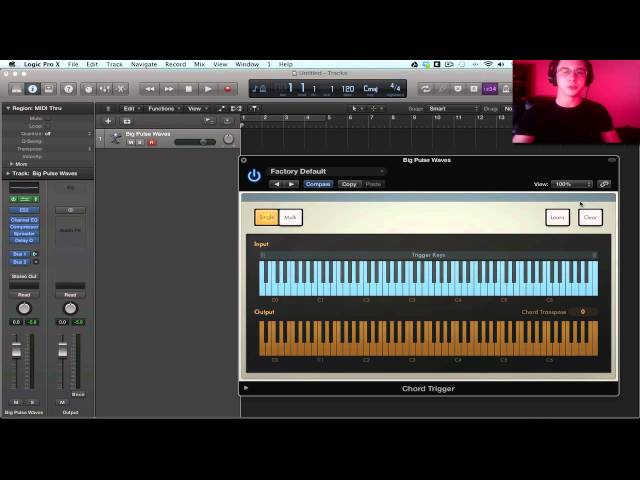 Logic Pro X Tutorial Chord Trigger : SenzoMusic.com