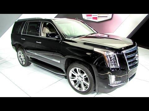 2015 Cadillac Escalade – Exterior and Interior Walkaround – 2014 Detroit Auto Show
