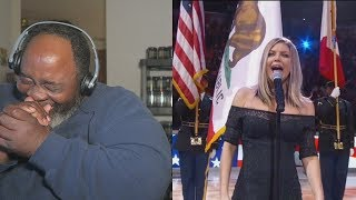 Video Dad Reacts to Fergie's National Anthem Draws Criticism! MP3, 3GP, MP4, WEBM, AVI, FLV Februari 2018