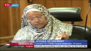 Justice Tunoi wants the case challenging retirement age adjourned