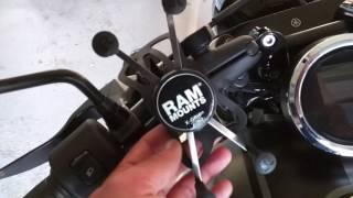 7. Yamaha Star Bolt RAM Phone Mount Install Review