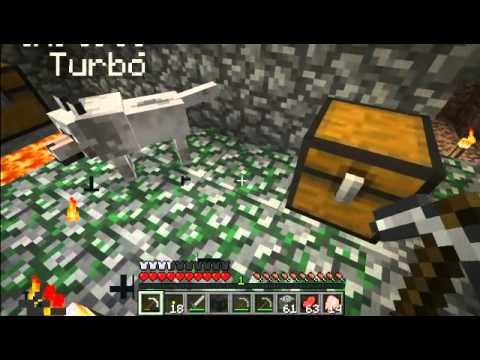 Kornél VS Minecraft : 3. rész : A hatalmas bányászás Turbóval