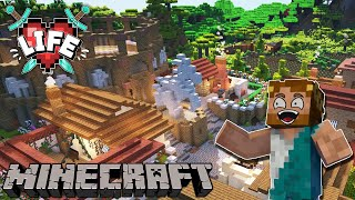 X Life : WE KILLED EVERYONE IN MY ARENA : Ep 18 Minecraft Survival