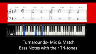 Download Lagu Kenny Barron Style Turnaround Tutorial- Piano Harmony Lesson Mp3